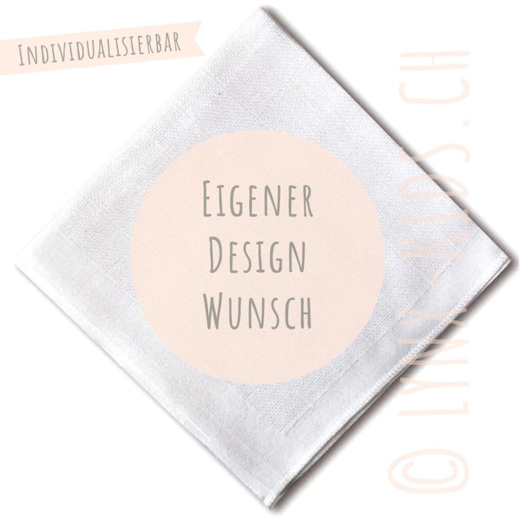 Nuscheli, Eigener Designwunsch